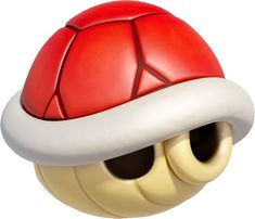 View an image titled 'Red Shell Art' in our Mario Kart 8 art gallery featuring official character designs, concept art, and promo pictures. Mario Kart 8, Mario Bros., Mario And Luigi, Super Mario Bros, Super Mario Brothers, Super Smash Bros, Yoshi, Mirai Gohan, Mario Kart Characters