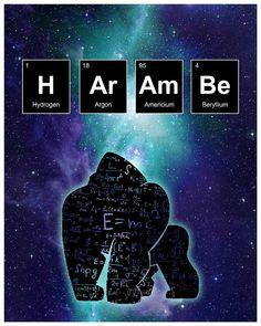 Harambe Science Print by kulascapes