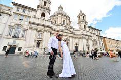 Sobáš v Ríme - Blanka a Tomáš   Svadba v Ríme - septembrový Rím vo dvojici