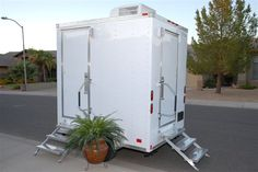 Porta Potty For Outdoor Wedding | Click on images to enlarge