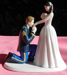 US Army MILITARY soldier prince wedding cake by CarolinaCarla