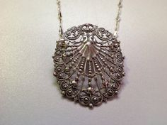 VINTAGE  Antique Sterling Silver Filagree by BlkBttrflyDsgns, $75.00