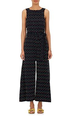 "We Adore: The ""Allovers"" Flocked Cotton Jumpsuit from Ace"