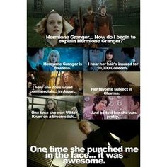 Harry Potter and Mean Girls. I'm kind of a nerd.