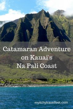 A catamaran tour of Na Pali Coast is the best way to see the rugged side of Kauai. It's a travel adventure worth adding to your bucket list.