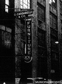 New York Neon: G. Cardarelli, Fine Furniture