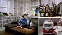 Sanctuary: An Architect& Epic Lego Room Dieser individuell gestaltete Raum beherbergt mehr als Legos. The post Heiligtum: Der epische Lego-Raum eines Architekten appeared first on Juana Moore. Lego Display, Lego Table Ikea, Lego Videos, Buy Lego, Lego Lego, Lego Room, Lego Storage, Attic Remodel, Lego Creations