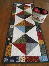 Image result for christmas charm square table runners