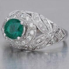 Edwardian Vintage Engagement Ring