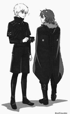 Kaneki & Ayato   Tokyo Ghoul