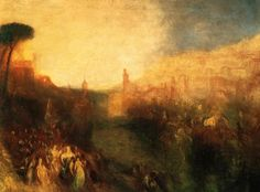 J.M.W.Turner, Departure Of The Fleet
