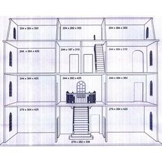 BTK003 - Downton Manor Dolls House Kit *Latest Design* from Bromley Craft Products Ltd.