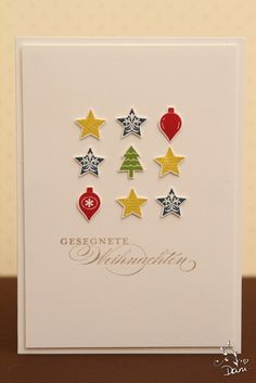 merry minis...good for any tiny stamps