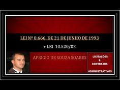 LEI 8666 DE JUNHO DE 1993-LICITAÇÕES E CONTRATOS - 8