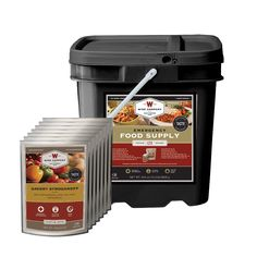 Emergency Food Supply Grab an Go Kit - 120 Servings (Entree Only)
