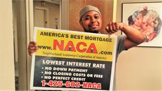 "The Santiagos made their #AmericanDream come true for their family! ""We're just happy to be moving into this next chapter of our lives. NACA has helped us make our dream of providing a home for our boys to have.""  2.25% fixed rate! #AmericanDream #NACAPurchase  2.559% APR"