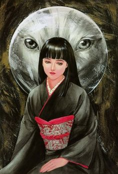 """Akemi Takada - Juchuki (From the artbook """"Misty Orb"""")"""