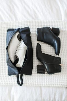 How to choose and pack shoes for travel. Tips and examples for different types of trips.