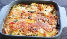 ογκρατεν λαχανικο με κοτόπουλο Low Sodium Recipes, Beef Recipes, Fun Cooking, Omelette, Lasagna, Meal Prep, Food And Drink, Meals, Dishes