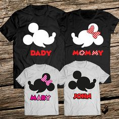 8600b3802 Disney vacation shirts, Personalized Disney Family Vacation T shirts, Disney  Family Shirts, Disney shirts for family, Disney shirts family
