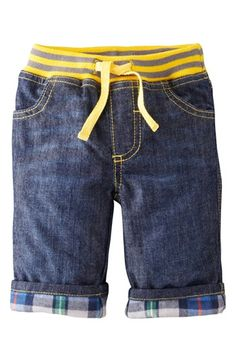 Mini Boden 'Cozy' Lined Pants (Baby Boys) | Nordstrom. These look comfortable but super stylin' for Fall