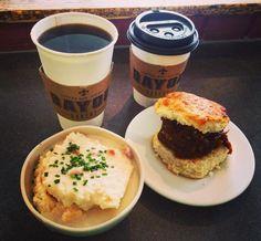 Brunch on the Bayou  #goodmorning #foodie #foodstagram #food #breakfast #brunch #lunch #warm #coffee #breakfastsandwich #sandwich #porkbbq #biscuitsandgravy #bacon #delicious #coffeeshop #cafe @bayoubakery #bayoubakery #virginia #northernvirginia #nova #dining #travel #arlington #arlingtonva #washingtondc #dc #riseandshine by michellesebreny