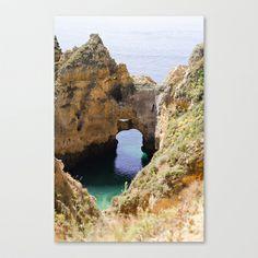 Atlantique Stretched Canvas by Sébastien BOUVIER - $85.00 Art Prints, Canvas, Water, Outdoor, Mini, Decor, Art Impressions, Tela, Gripe Water