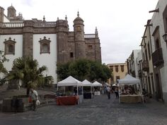 Mercado en Vegueta. Gran Canaria. Islas Canarias.