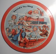 Voco Orchestra - Santa's Toy Shop: Flexi, Single, Card, Pic For Sale Orchestra, Lp Cover, Toys Shop, Santa, Cards, Shopping, Noel, Maps, Band