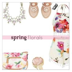 """Spring floral with Yoins"" by simona-altobelli ❤ liked on Polyvore featuring Jack Rogers, Apt. 9, yoinscollection and loveyoins"