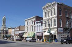 Owensboro, Kentucky.