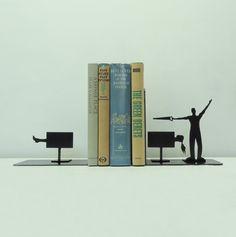 Magicien Art métal serre-livres  USA par KnobCreekMetalArts sur Etsy