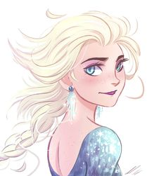 Elsa Art Print by AndytheLemon