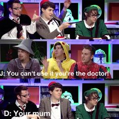 One of the reasons that I love dan howell. And Phil's face  in the second one:) lol