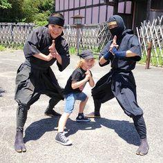 Ninja at Azuchi Momoyama Bunka Mura (Edo Wonderland) in Ise