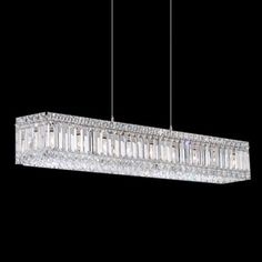 "Schonbek Quantum Collection 35 1/2"" Wide Crystal Pendant - #J2773 