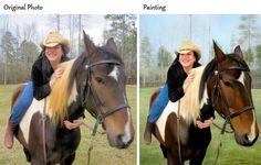 We transform your pet photo into a magnificent portrait!