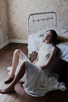 Anne-Sofie List by Katrine Rohrberg for Jesper Hovring, Spring 2012 Campaign