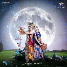 Awesome picture of Radha krishna Great photo of Radha Krishna Radha Krishna Holi, Radha Krishna Love Quotes, Cute Krishna, Radha Krishna Pictures, Krishna Photos, Shree Krishna, Krishna Art, Radha Rani, Radhe Krishna Wallpapers