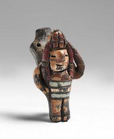 Whistle, 300-250 B.C., Pre-Columbian Period. Paracas Culture, Ocucaje-South…