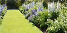 Herbaceous Borders:: Levens Hall - Historic Hall and Gardens, The Lake District, Cumbria