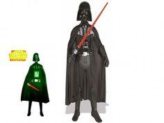 Fato Darth Vader Adulto Star Wars - Guerra Estrelas.