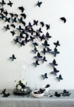 Paper Butterflies in Flight ♥.  This is going in my bedroom