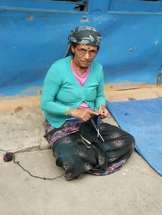 Indian lady knitting :), knitter, glasses, fingers, hands, crafting, portrait, photo