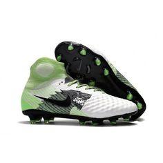10bbeb800afd Wholesale Nike Magista Obra II FG Sock Soccer Cleats - White/Green/Black  from