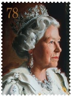 1999 Andrew Festing  Royal Mail commissions portrait of the Queen for Coronation stamps