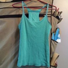 So Brand (Juniors) Teal Racerback Ribbed Tank XL. Check it out!  Size: XL