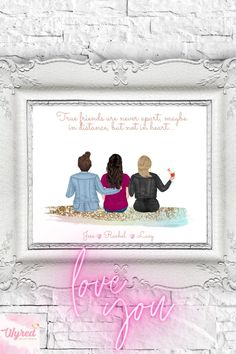 #personalisedprints #giftsforher #bestfriend #bestfriends #bestfriendgoals bestfriendquotes Personalized Best Friend Gifts, Customized Gifts, Best Friend Quotes, Best Friend Goals, Best Birthday Surprises, Personalised Prints, Presents For Men, Pretty Designs, Christmas Gifts For Women