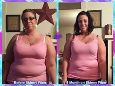 Jennifer--- Ok, I am really self conscious about my weight so this is really hard for me to post, I have been taking skinny fiber now for the past 30 days and these are my results thus far. I'm really excited and can't wait to see my results after my 90 day challenge!! I was very skeptical when trying the product at first because I've struggled with my weight my whole life, but being the heaviest I've ever been I knew I needed a change. So I went out on a limb and decided to try the product…