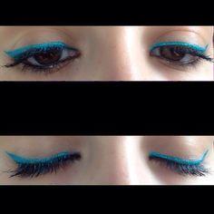makeup primaverile eye-liner verde Kiko #madewithstudio